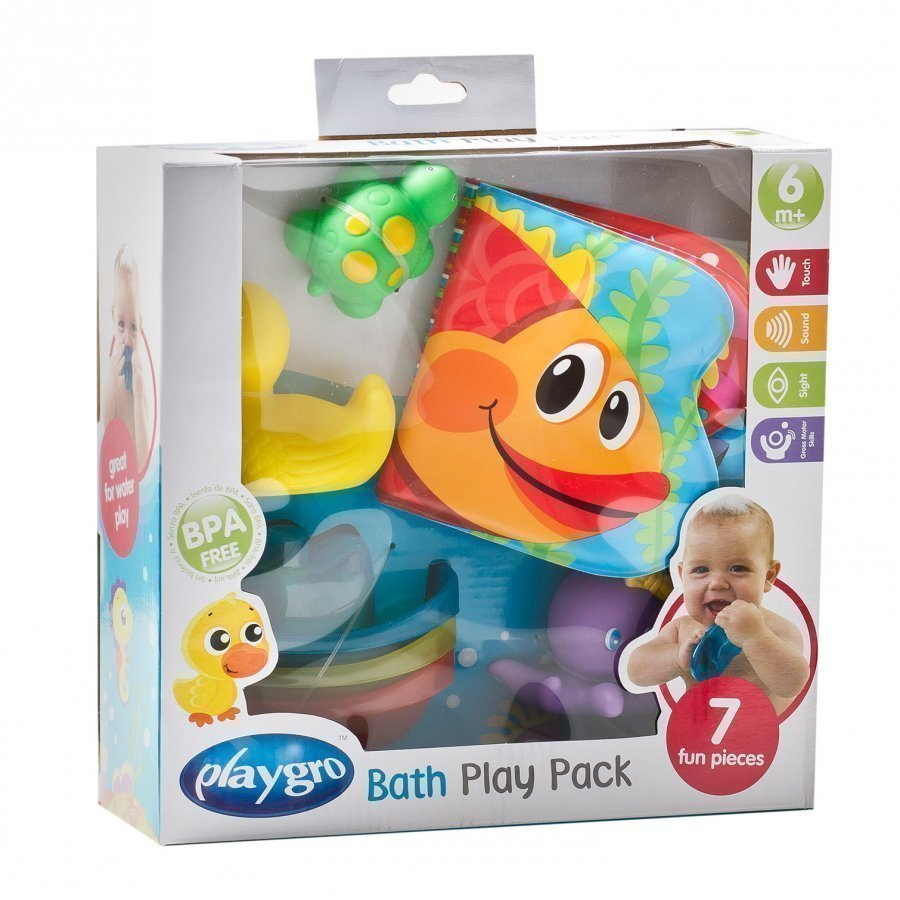 Playgro Bath Play Gift Pack Kylpylelu