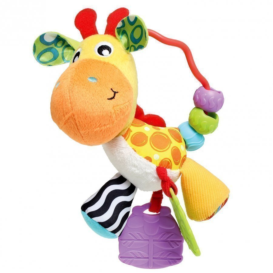 Playgro Giraffe Activity Rattle Helistin