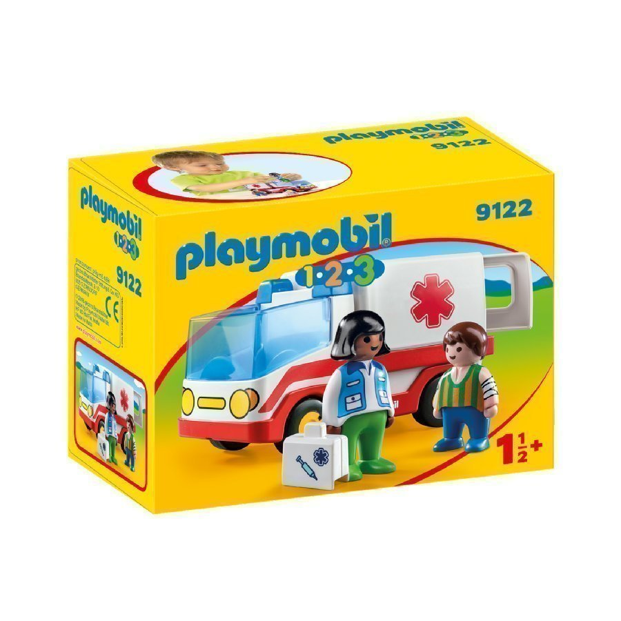 Playmobil 1 2 3 Ambulanssi 9122