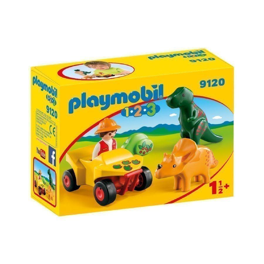 Playmobil 1 2 3 Dinosaurustutkija 9120