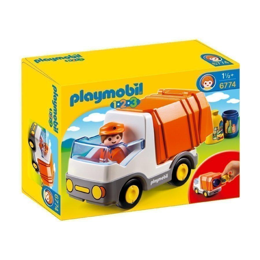 Playmobil 1 2 3 Jäteauto 6774