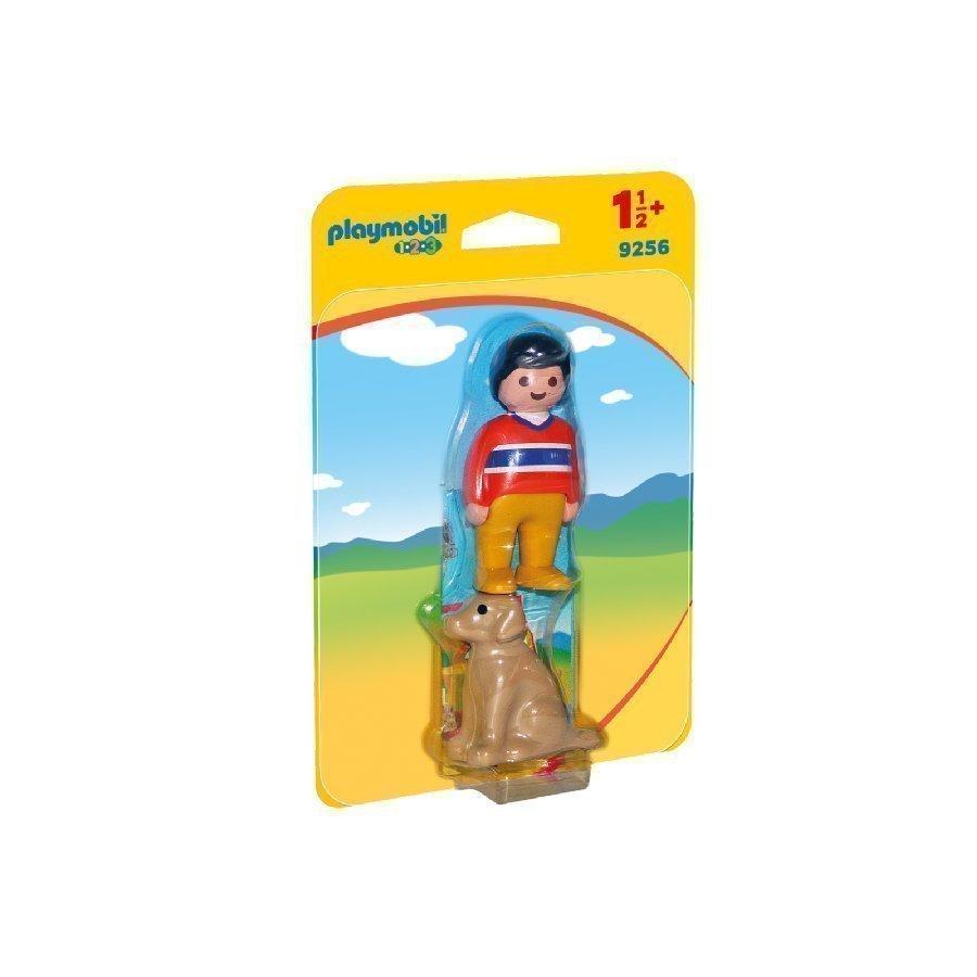 Playmobil 1 2 3 Mies Ja Koira 9256