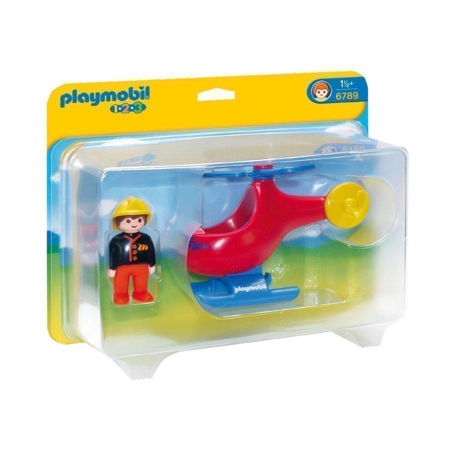 Playmobil 1 2 3 Sammutushelikopteri 6789