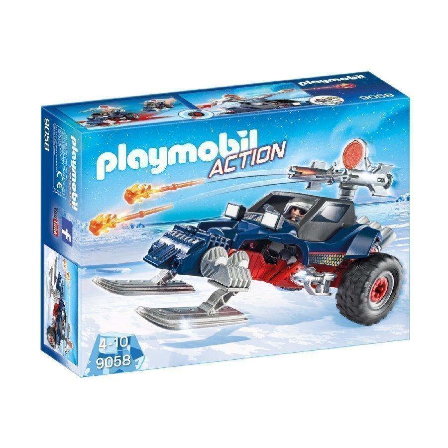 Playmobil Action Jääpiraatin Jääauto 9058