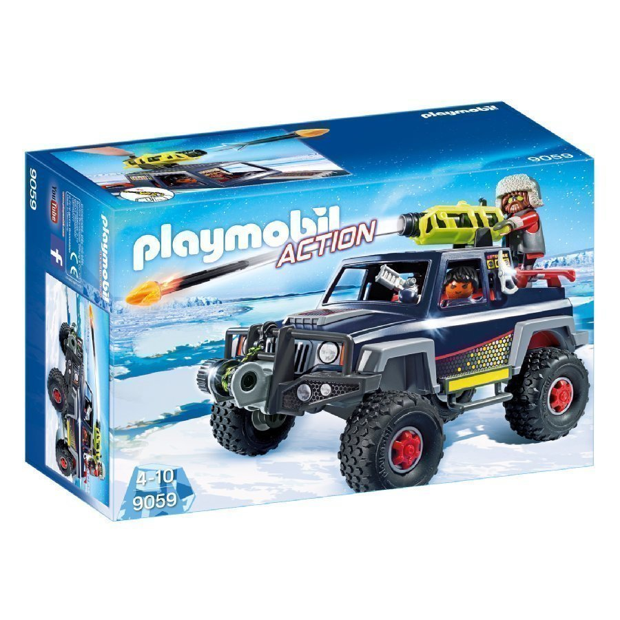 Playmobil Action Jääpiraattien Maasturi 9059