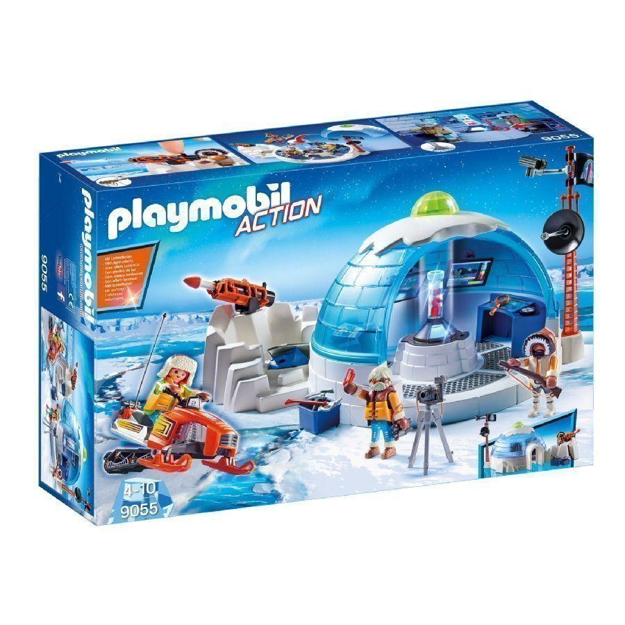 Playmobil Action Naparetkikunnan Komentokeskus 9055