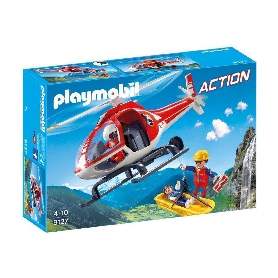 Playmobil Action Pelastushelikopteri Vuoristoon 9127