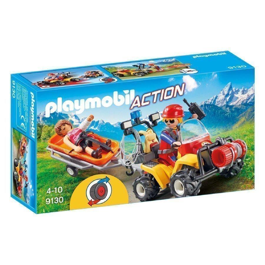 Playmobil Action Vuoristopelastajien Mönkijä 9130