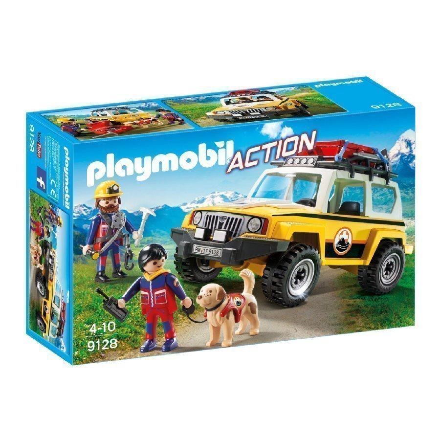 Playmobil Action Vuoristopelastajien Maasturi 9128