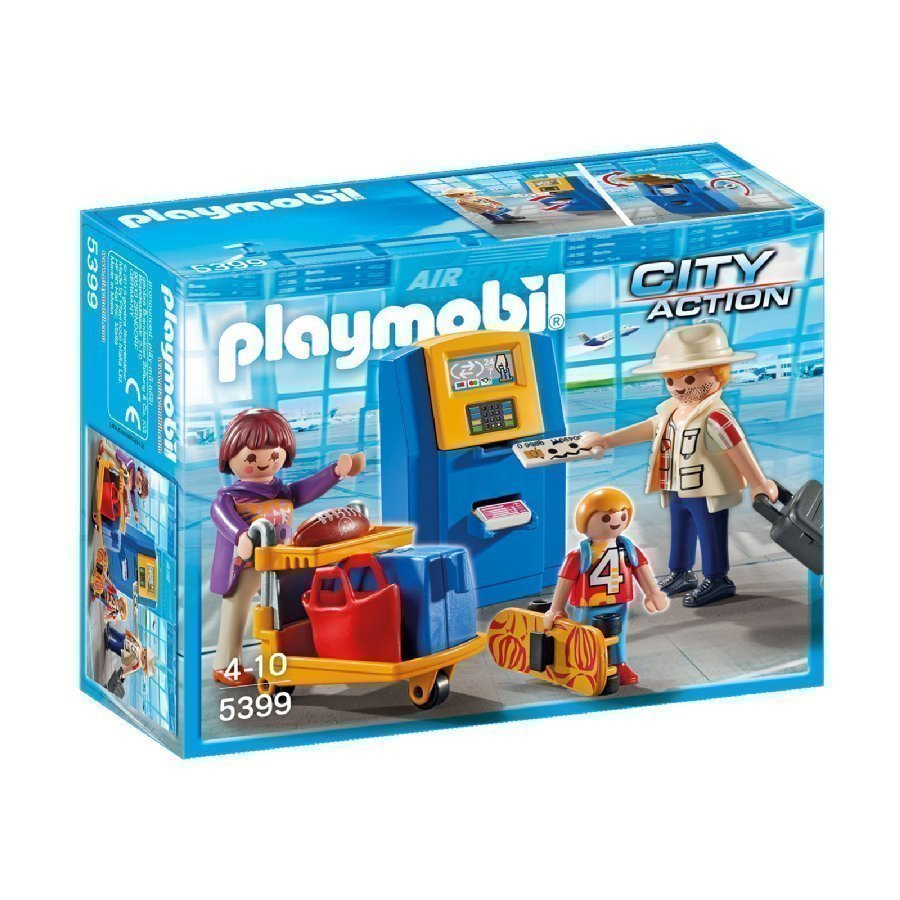 Playmobil City Action Check In Automaatti 5399