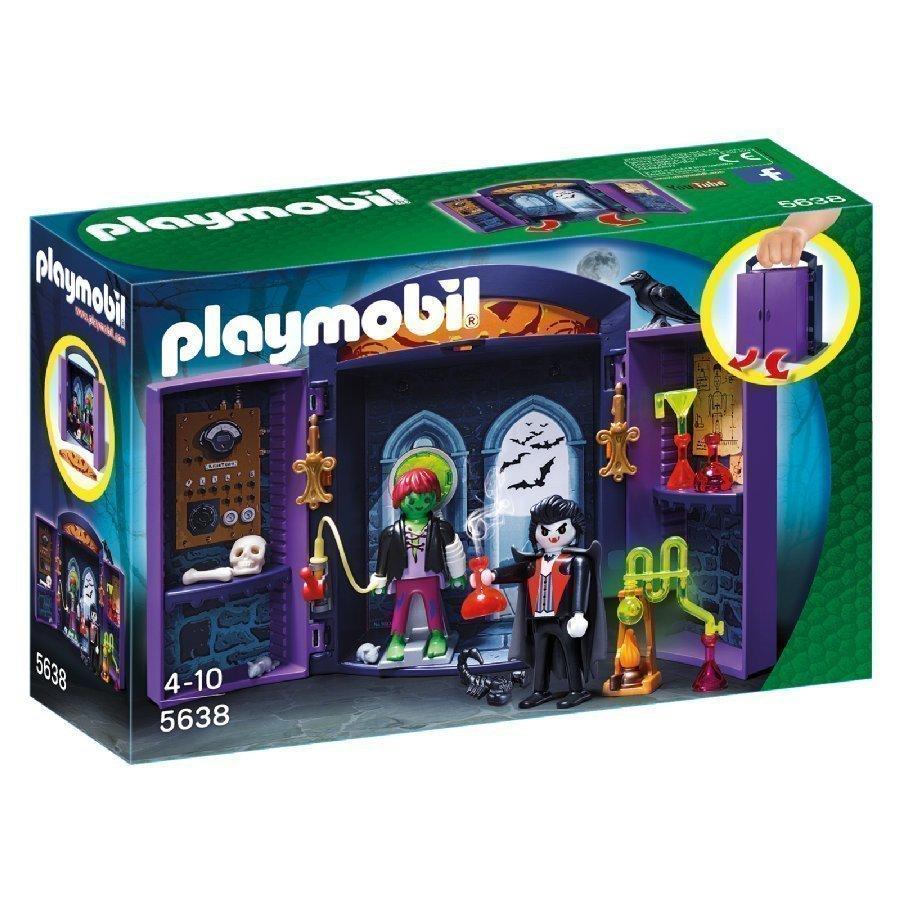 Playmobil City Action Kannettava Leikkilaatikko Hirviölinna 5638