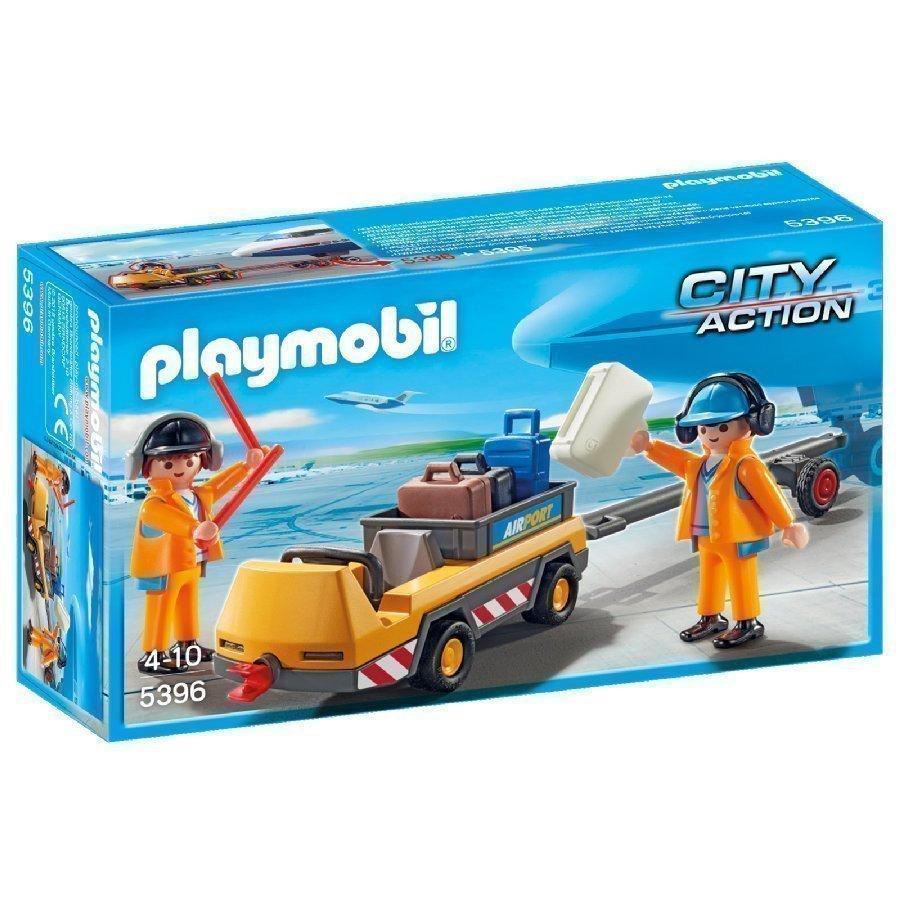 Playmobil City Action Lentokentän Kuljetusauto 5396