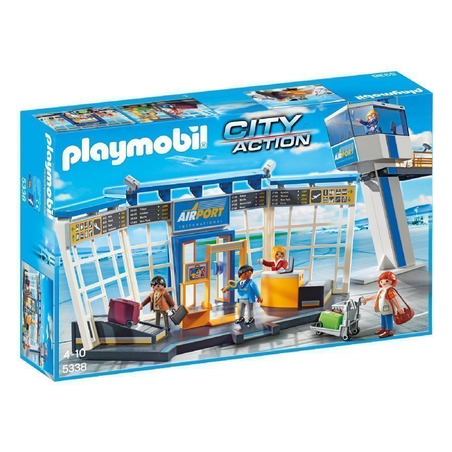 Playmobil City Action Lentokenttä 5338