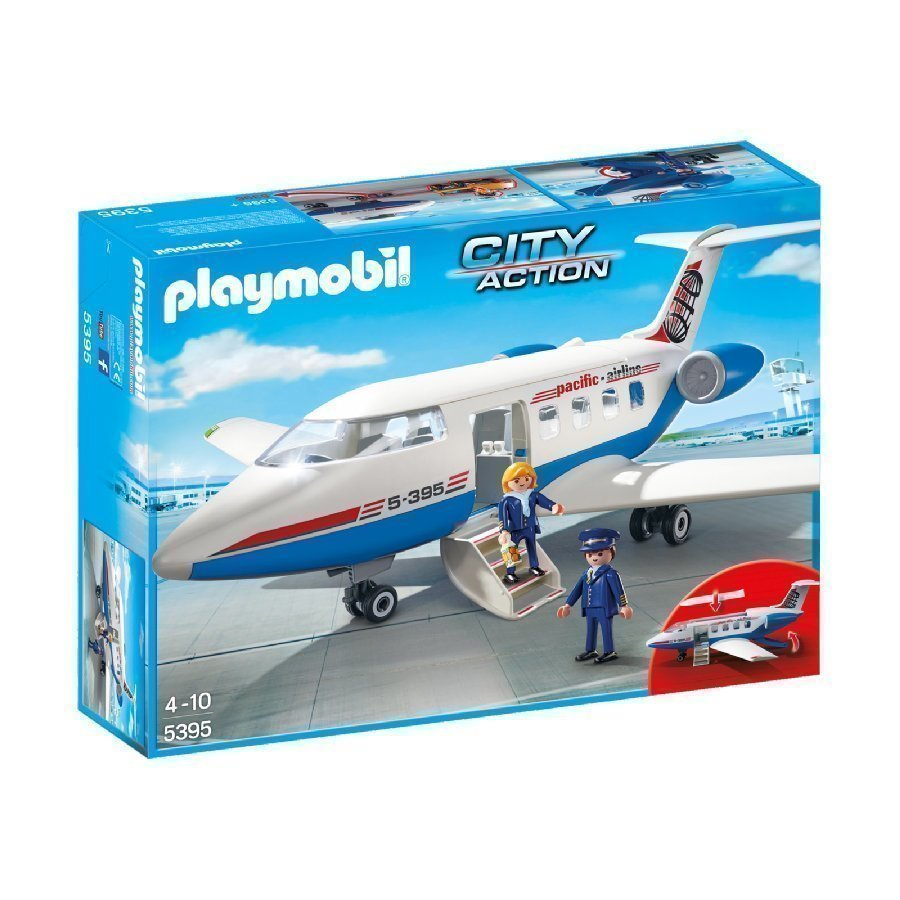 Playmobil City Action Matkustajakone 5395