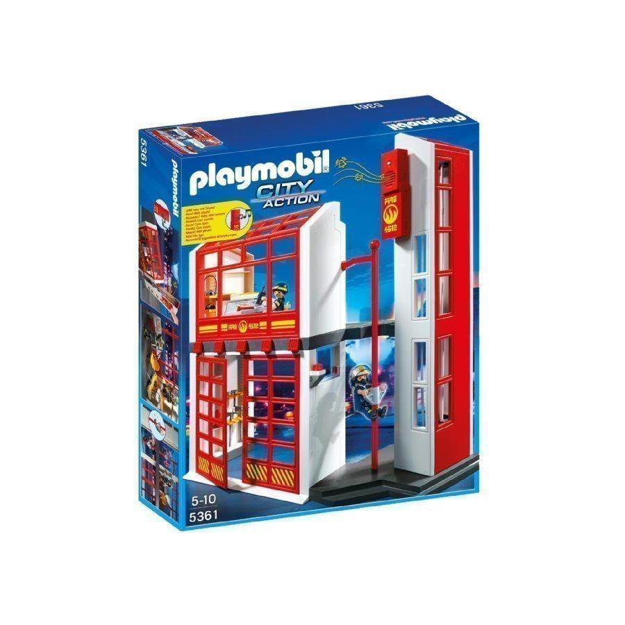 Playmobil City Action Paloasema Hälytyskellolla 5361