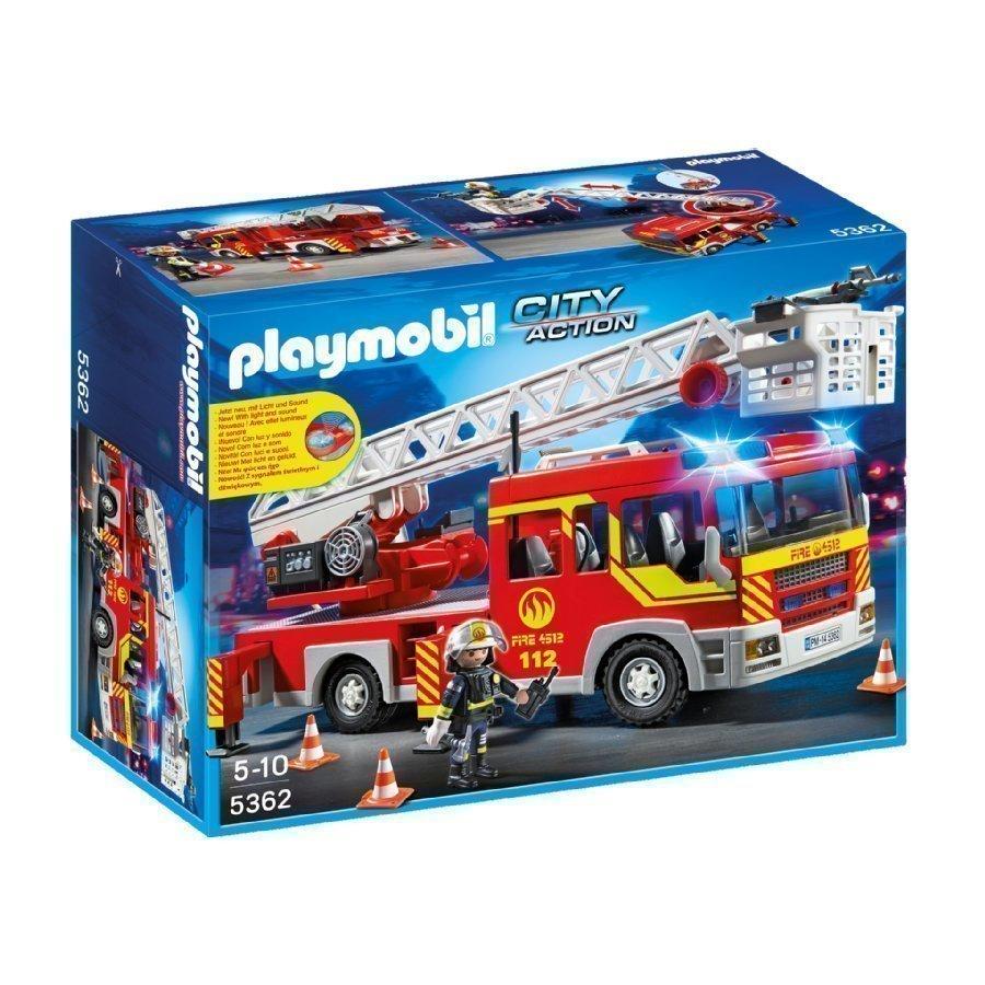 Playmobil City Action Paloauto Valolla Ja Äänellä 5362