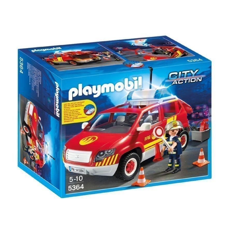 Playmobil City Action Palomestarinauto Valolla Ja Äänellä 5364
