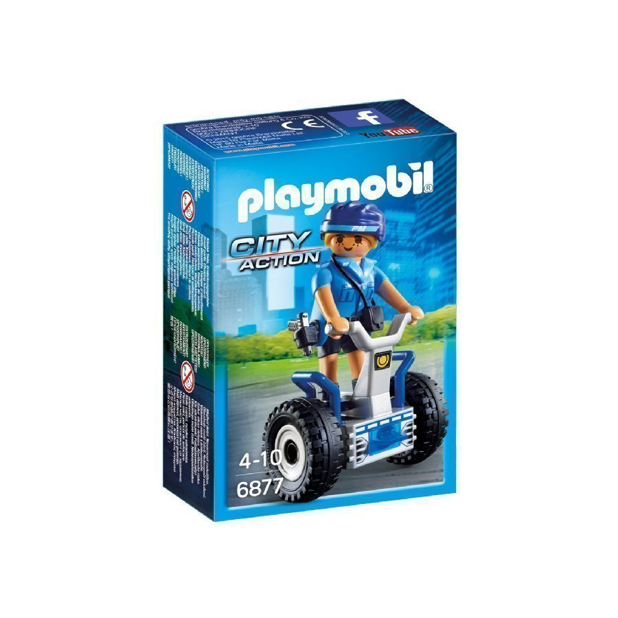 Playmobil City Action Poliisi Tasapainolaudalla 6877