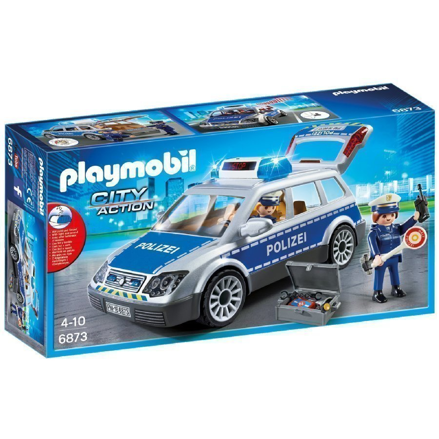 Playmobil City Action Poliisin Kenttäauto 6873