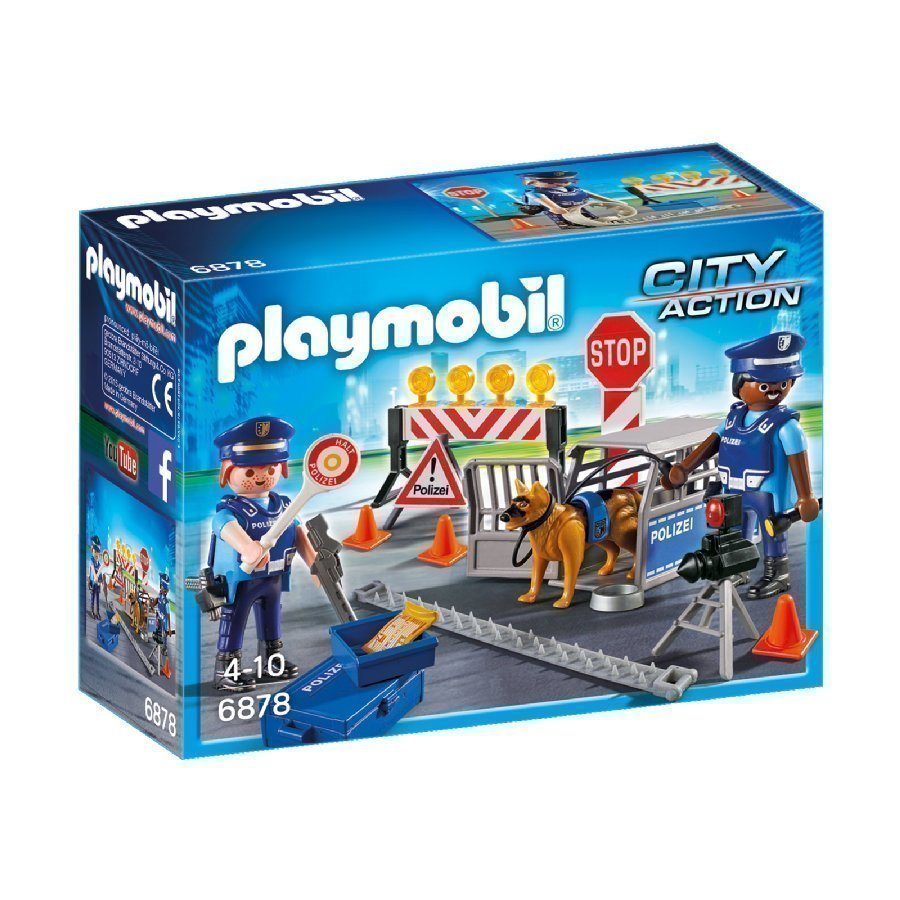 Playmobil City Action Poliisin Tiesulku 6878