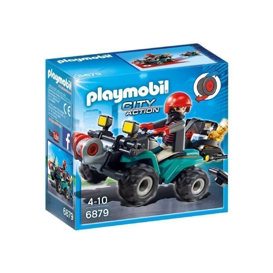 Playmobil City Action Roistojen Mönkijä Köysivinssillä