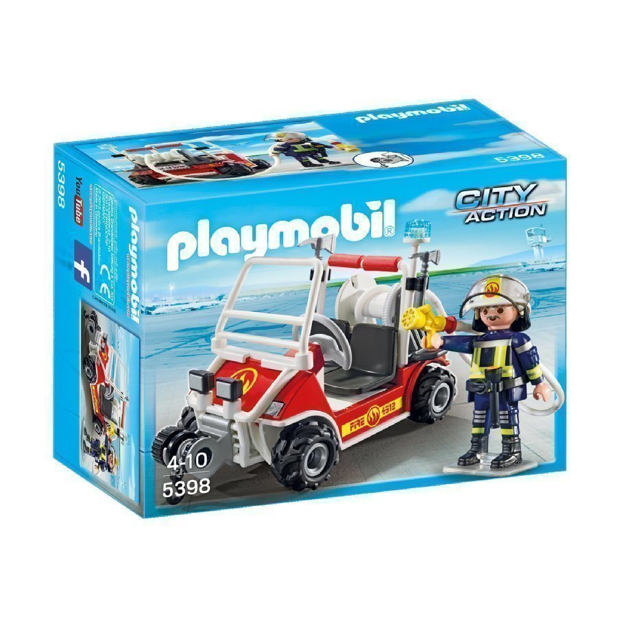 Playmobil City Action Sammutusmönkijä 5398