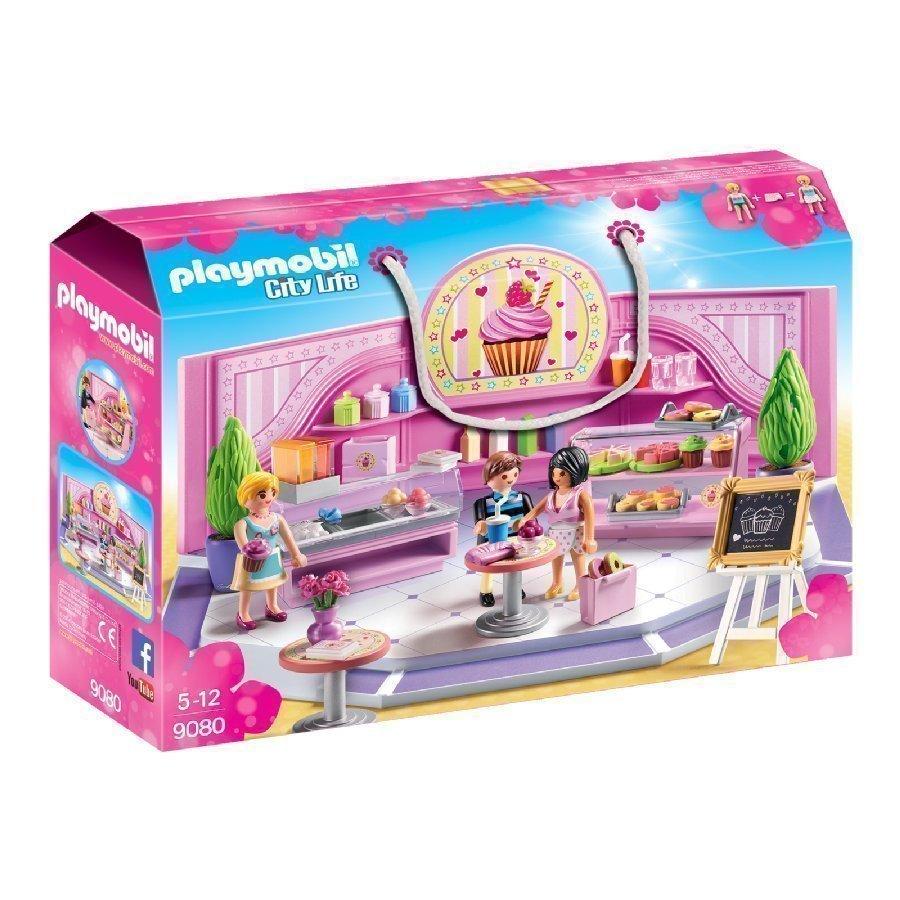 Playmobil City Life Kahvila Cupcake 9080