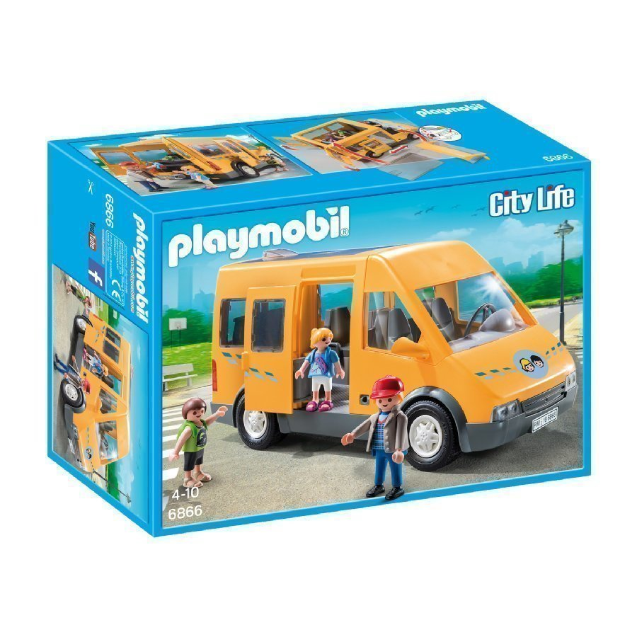Playmobil City Life Koulubussi 6866