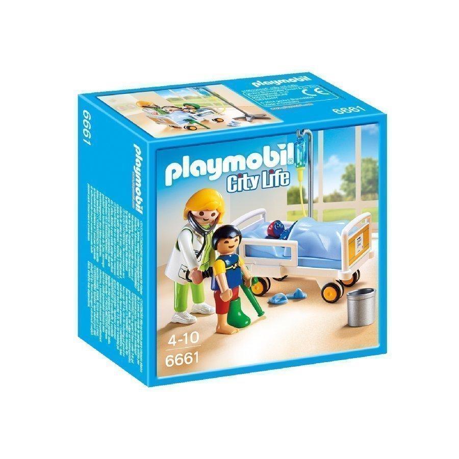 Playmobil City Life Lääkäri Ja Lapsipotilas 6661