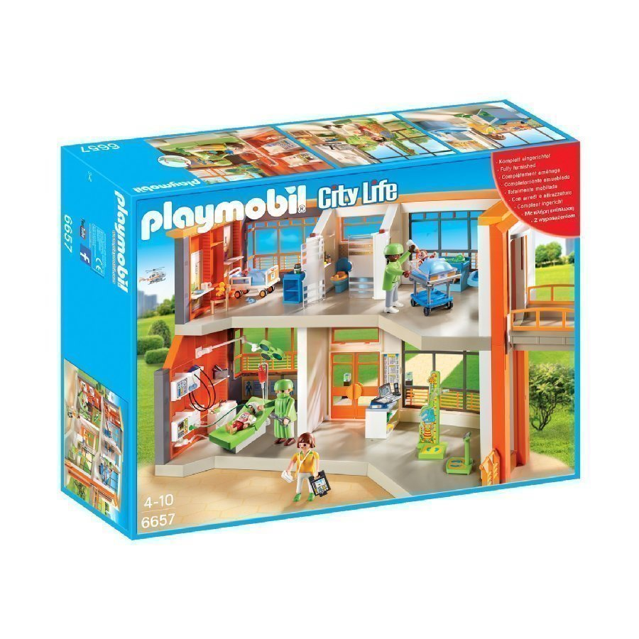 Playmobil City Life Lastenlääkäriasema 6657