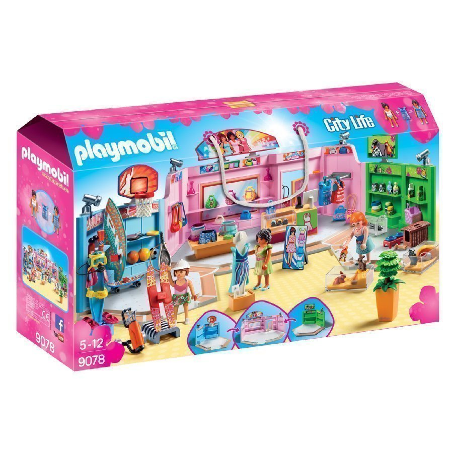Playmobil City Life Ostoskatu 9078