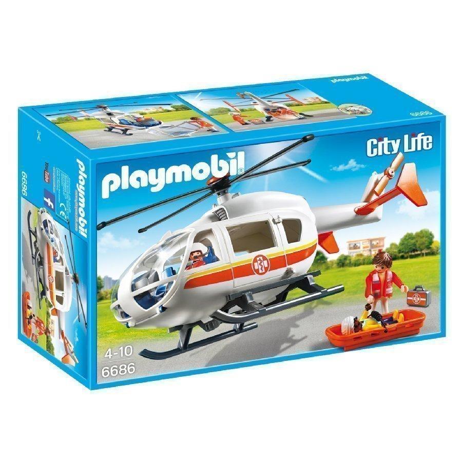 Playmobil City Life Pelastushelikopteri 6686
