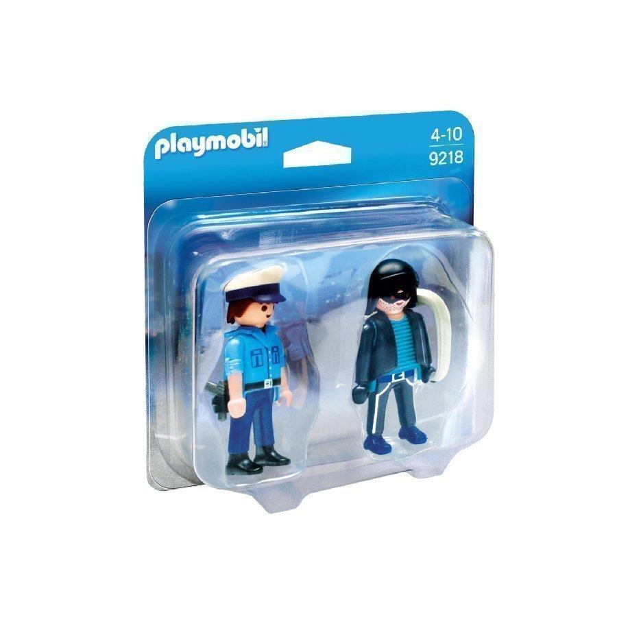 Playmobil City Life Poliisi Ja Pitkäkyntinen 9218