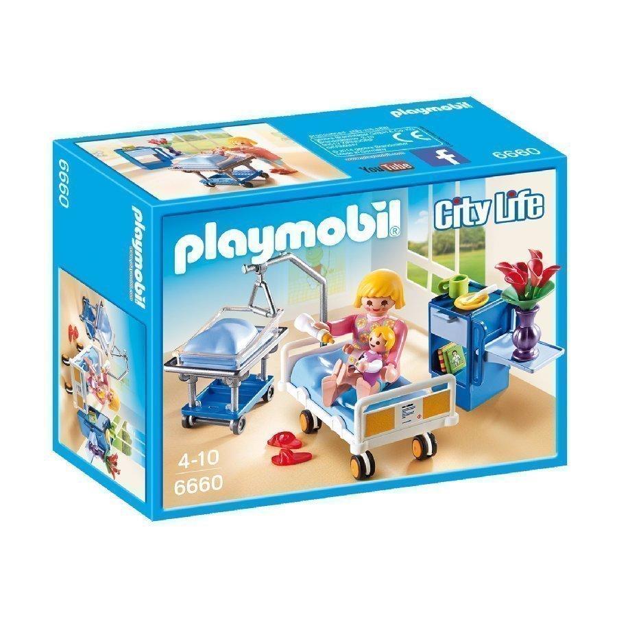 Playmobil City Life Potilashuone Vauvansängyllä 6660