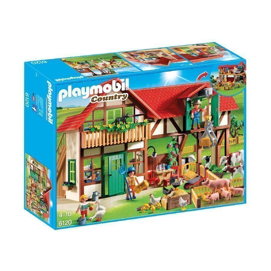 Playmobil Country Iso Maatila 6120