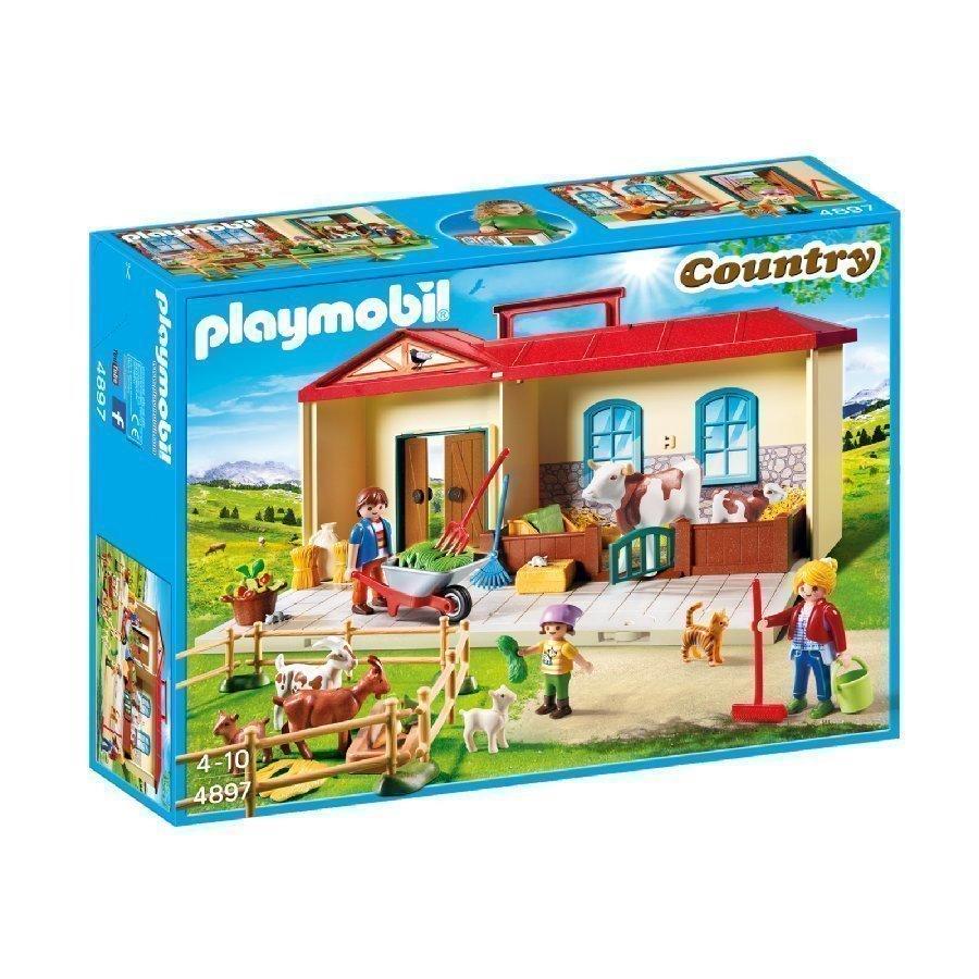 Playmobil Country Kannettava Maalaistalo 4897