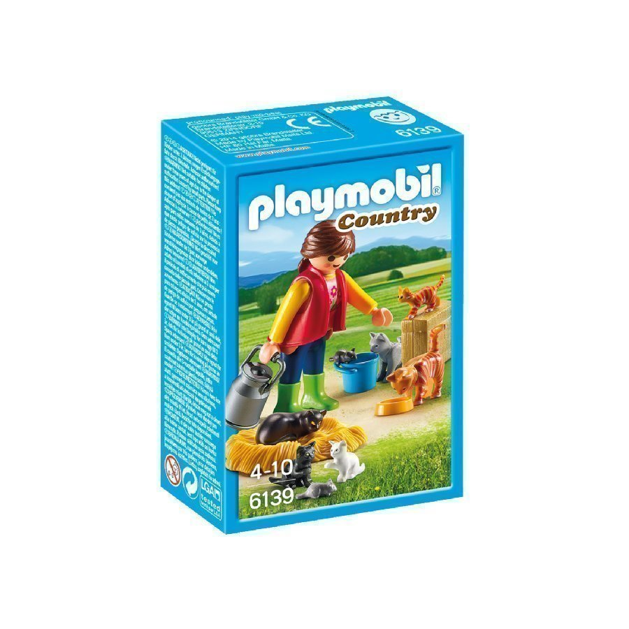 Playmobil Country Kissaperhe 6139