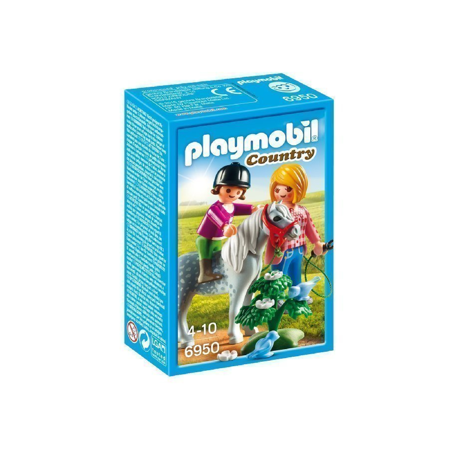 Playmobil Country Poniratsastus 6950