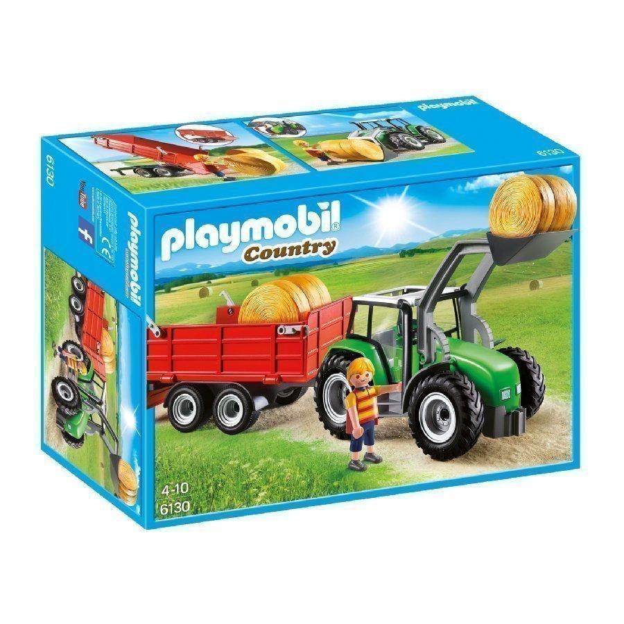Playmobil Country Suuri Traktori Peräkärryllä 6130