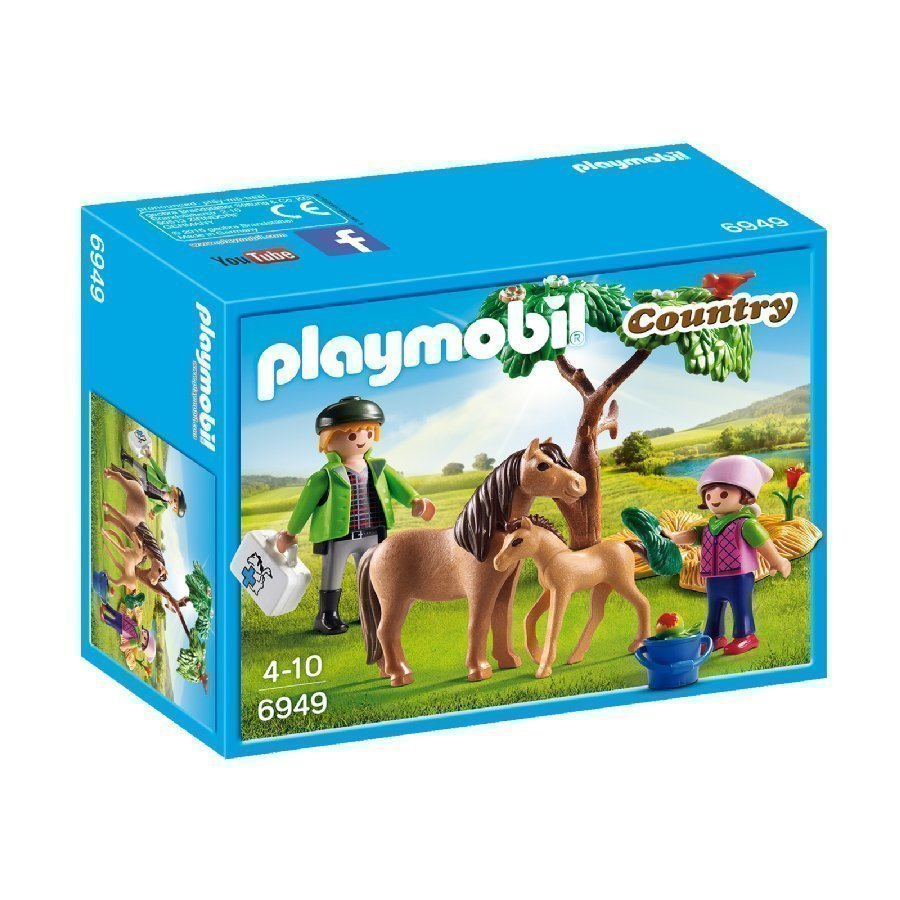 Playmobil Country Tamma Ja Varsa 6949