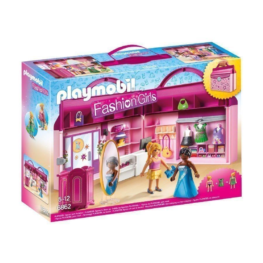 Playmobil Dollhouse Kannettava Muotiliike 6862