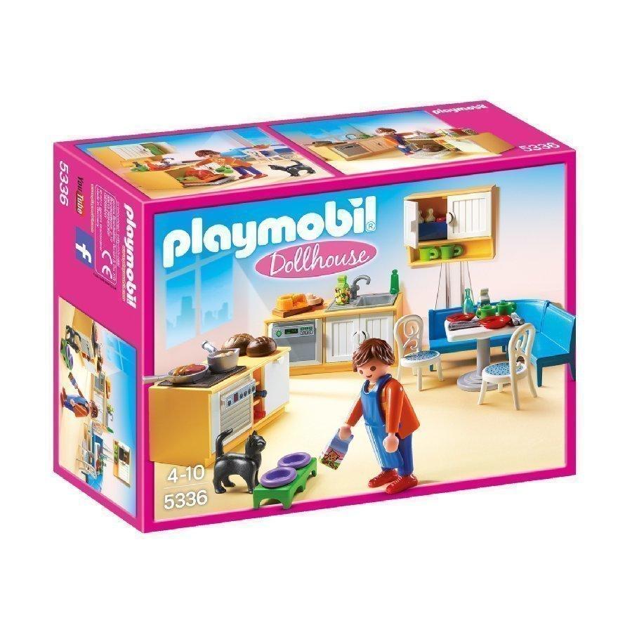 Playmobil Dollhouse Keittiö Ruokailukulmauksella 5336