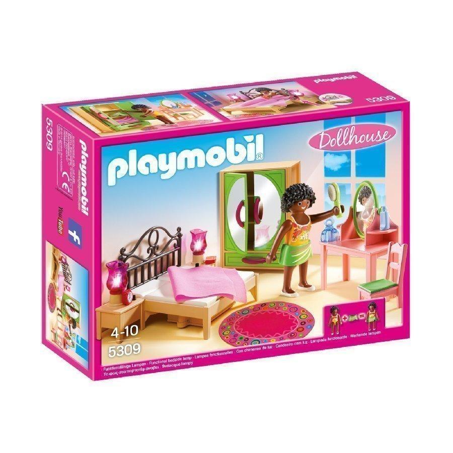 Playmobil Dollhouse Makuuhuone Kampauspöydällä 5309