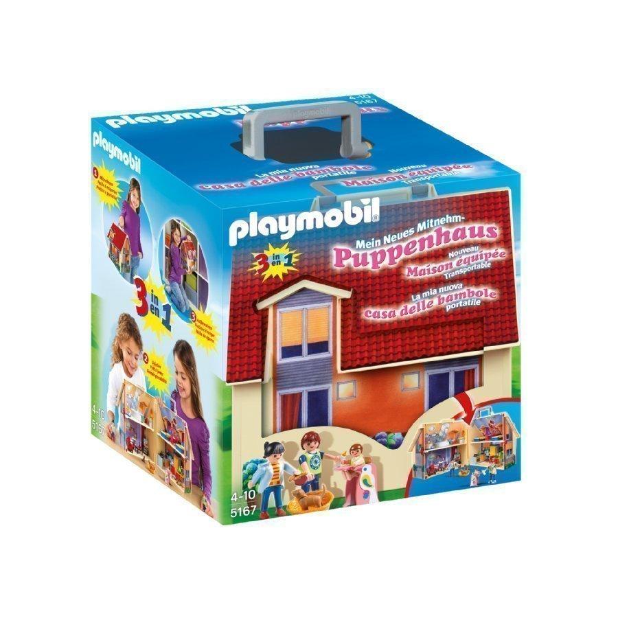 Playmobil Dollhouse Mukaanotettava Nukketalo 5167