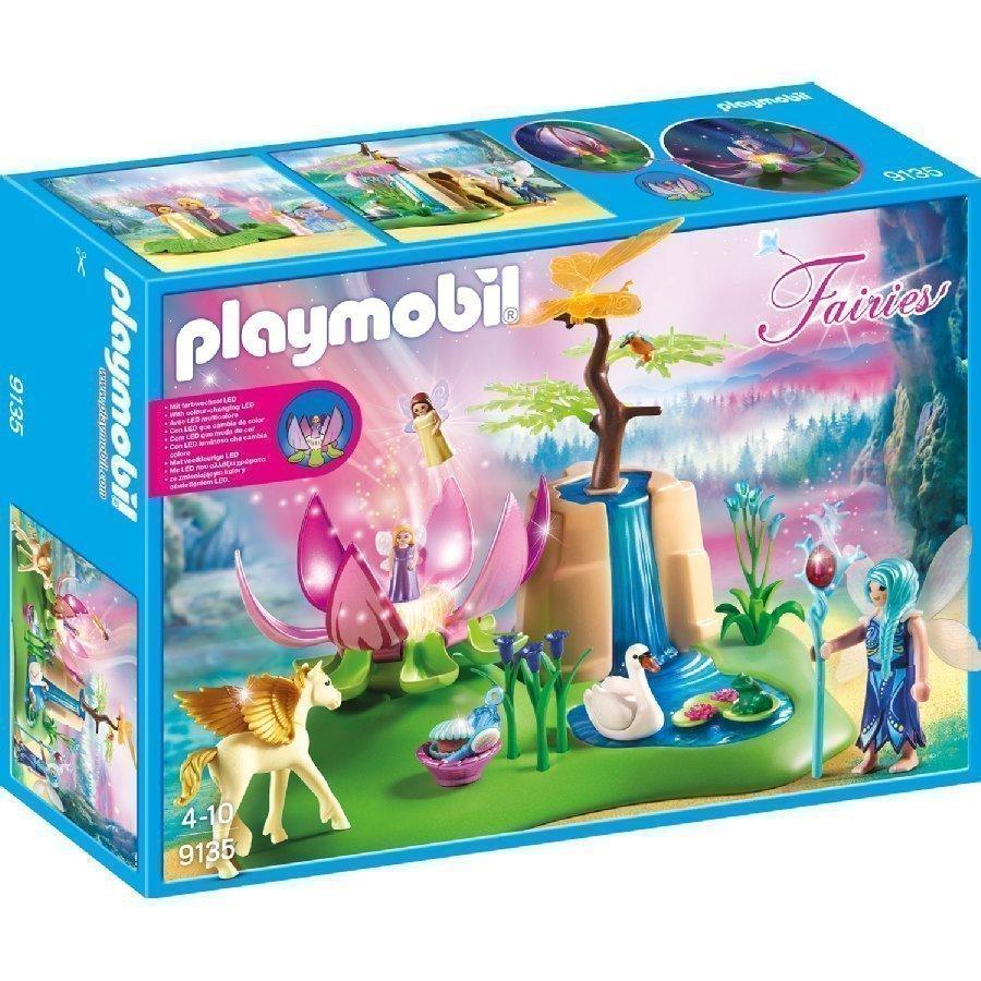 Playmobil Fairies Keijuvauvat Ja Loistava Kukka 9135