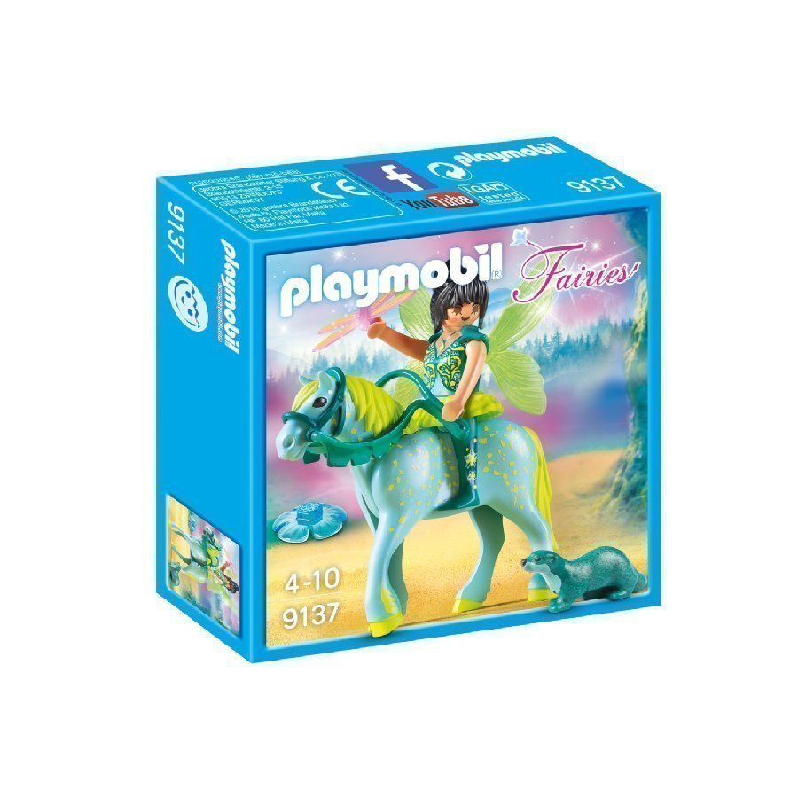 Playmobil Fairies Vesikeiju Ja Hevonen 9137