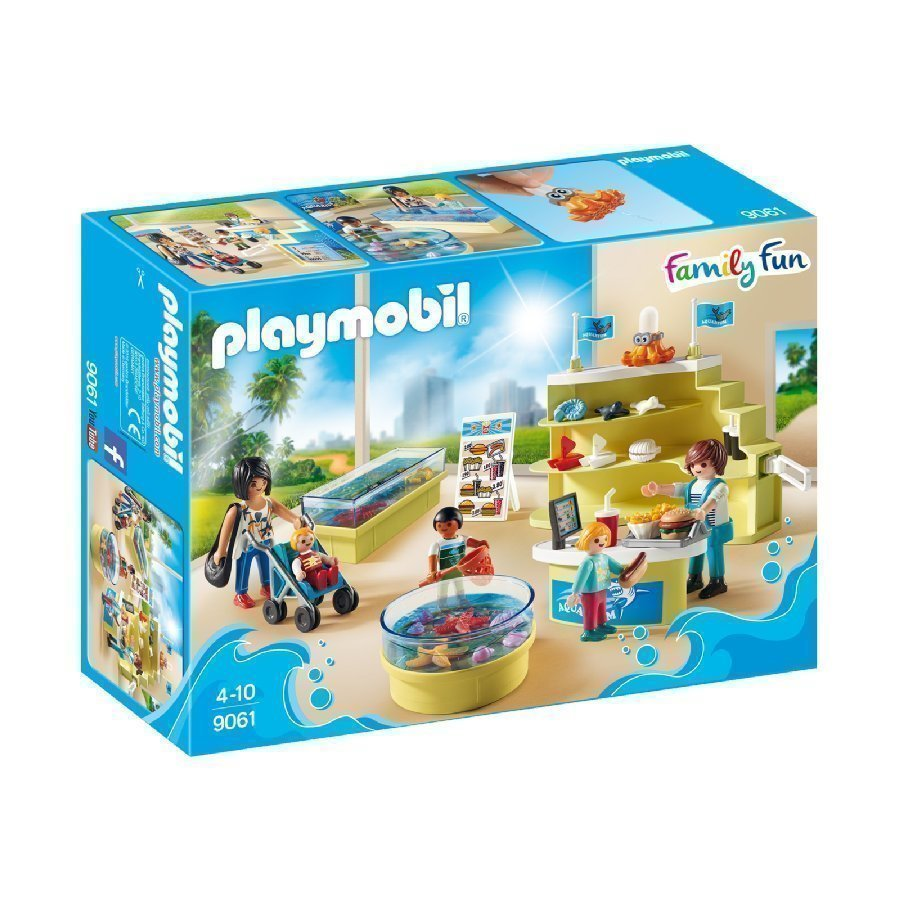 Playmobil Family Fun Akvaarioliike 9061