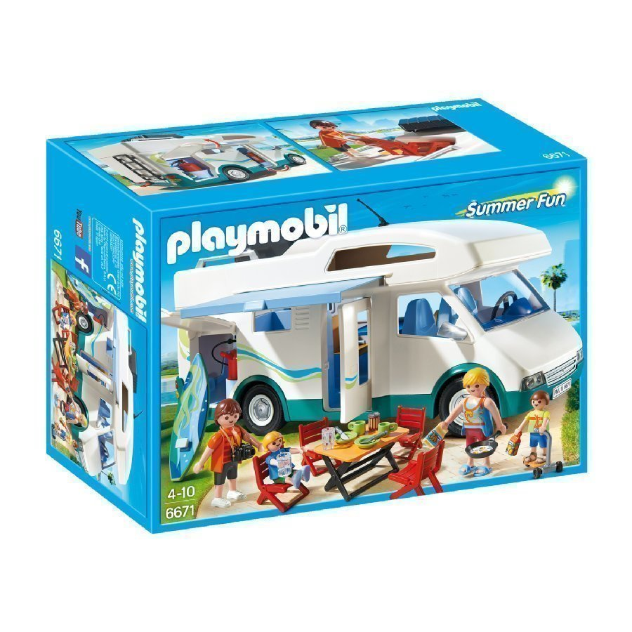 Playmobil Family Fun Asuntoauto 6671