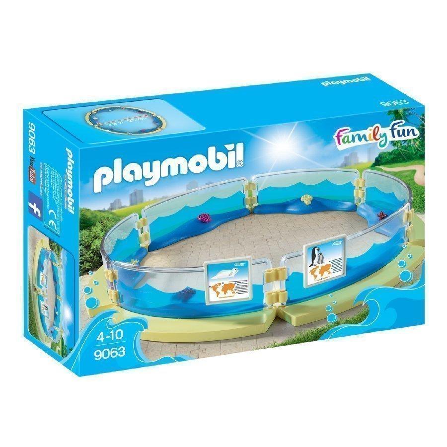 Playmobil Family Fun Koottava Akvaarioallas 9063