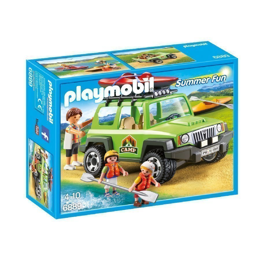 Playmobil Family Fun Leirimaasturi 6889